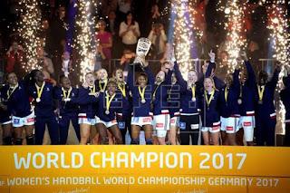 BALONMANO - Mundial femenino 2017 (Alemania): Francia sorprende a las noruegas y levanta su segunda corona