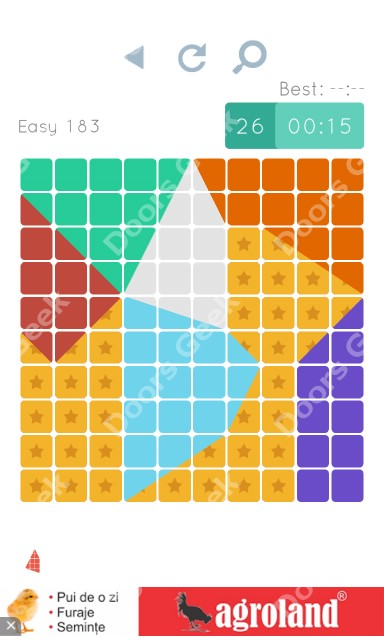 Cheats, Walkthrough for Blocks and Shapes Level 183