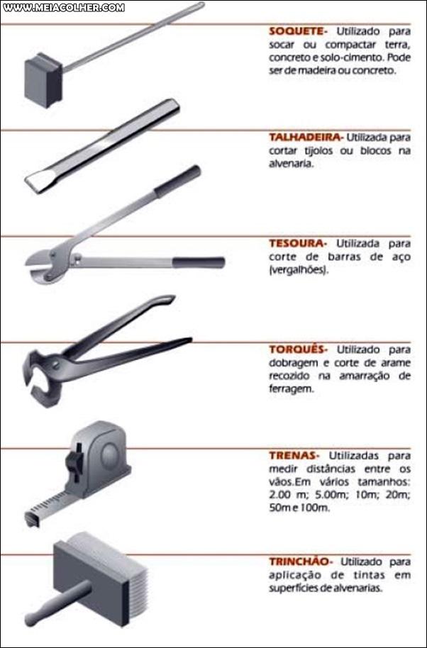 ferramentas de pedreiro 6