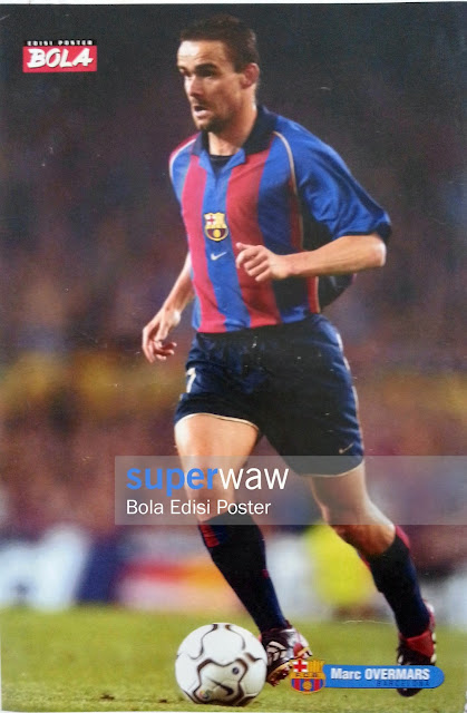 Poster Marc Overmars (FC Barcelona)