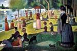 'Un domingo de verano en la Grande Jatte', obra representativa del puntillismo