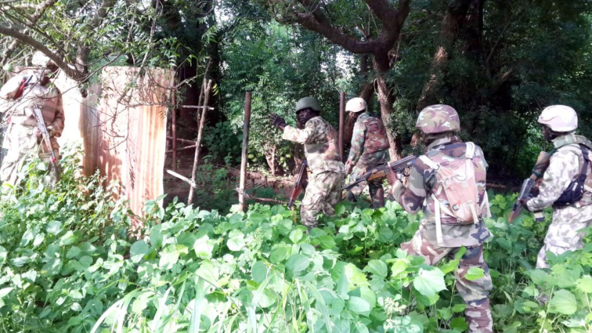 We shot 18 B'Haram fighters searching for food - Army Revealed