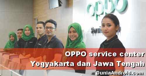 Alamat Service Center OPPO Yogyakarta dan Kota di Jawa Tengah