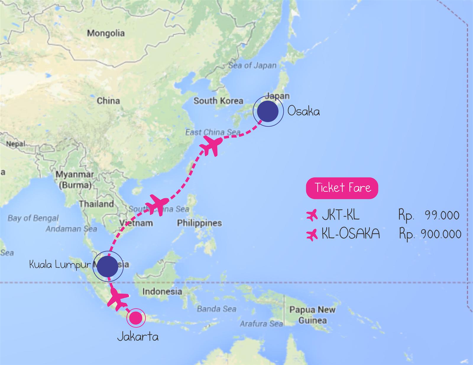 Sampai Jepang Dengan Satu Juta Rupiah Japan Part 1