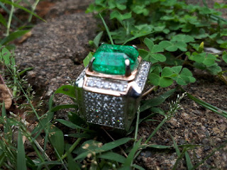 Natural Green Quartz QTZ007 Rasa Zamrud Columbia Ikatan Mewah