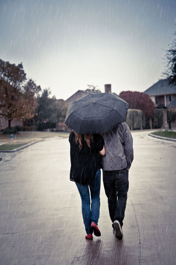 Как добавить дождь на фотографию в Фотошопе