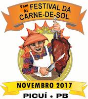 Vice-prefeito de Picuí anuncia a volta da festa da Carne sol 2017 em novo formato