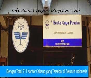 Alamat dan telepon jasa ekspedisi Kerta Gaya Pusaka  Kerta Gaya Pusaka (KGP) Makassar