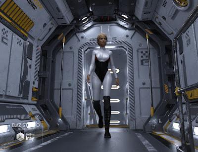 Sci-fi Corridor A
