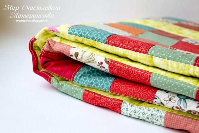 пэчворк одеяло в подарок
