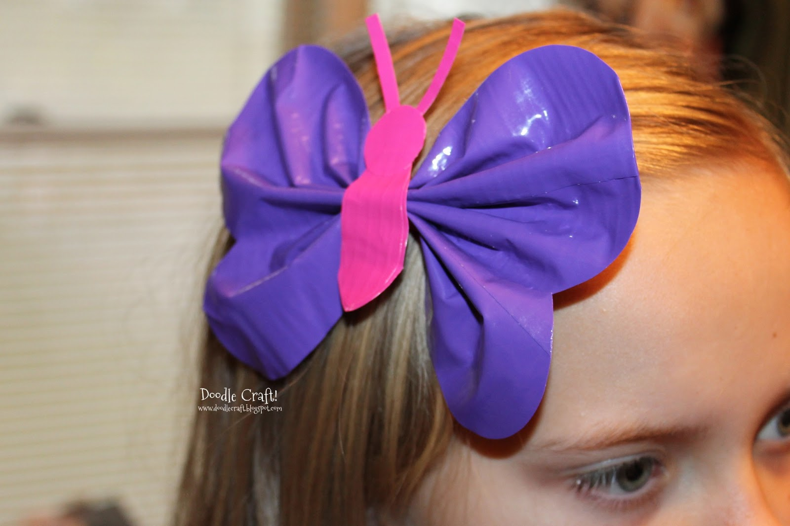 tape craft ideas doodlecraft butterfly duct hairbow 3051