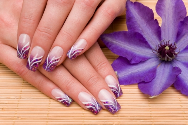 Fine Line Nail Art 4k Pictures 4k Pictures Full Hq Wallpaper