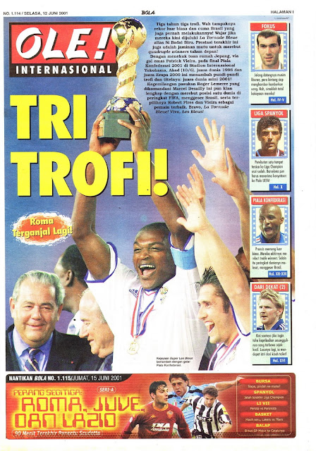 FRANCE TREBLE TROFI
