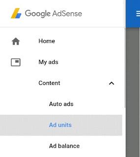 My ads Ad unit pr click kare