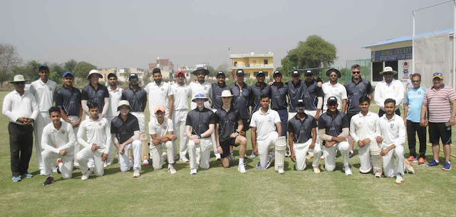 The Cricket Gurukul defeated Joe Root Cricket Academy by 186 runs