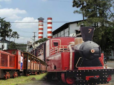 Antique locomotive Pangkah
