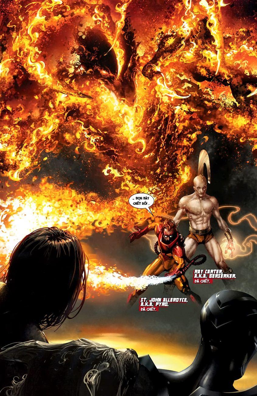X-Men Necrosha chap 1 trang 21