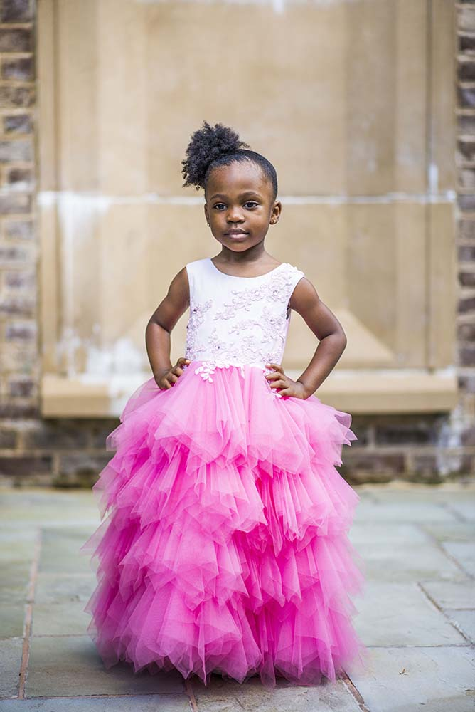 Tulle Special Occasion kids dress by Monbebe Lagos