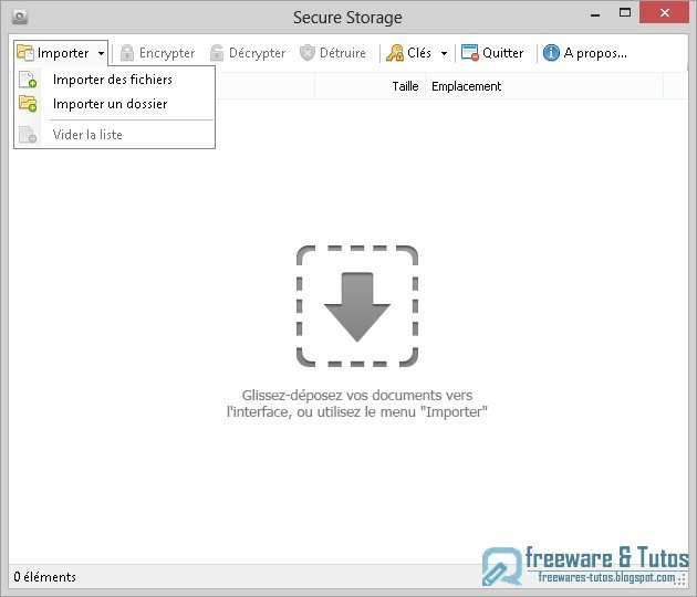 Secure Storage : un logiciel gratuit pour chiffrer vos fichiers