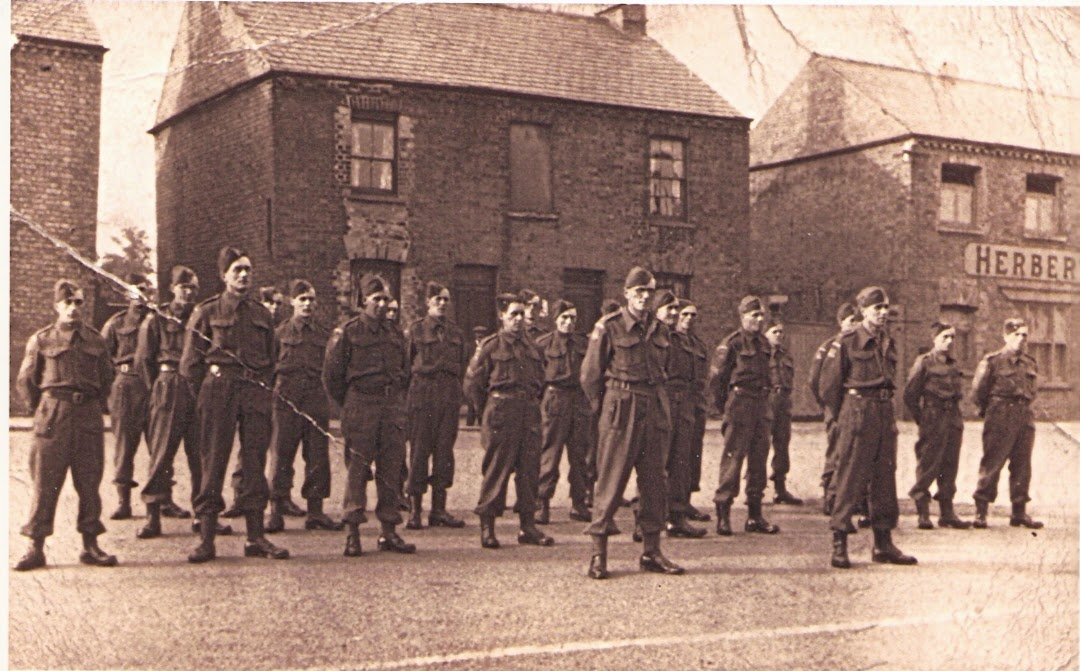 Ramsey Home Guard on parade - 1939-1943 (From Ramsey & District website)