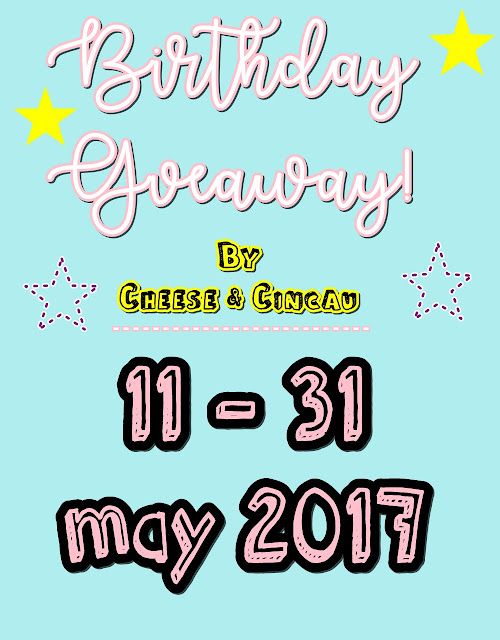 http://cheeseandcincau.blogspot.my/2017/05/birthday-giveaway-by-cheese-cincau.html?m=1