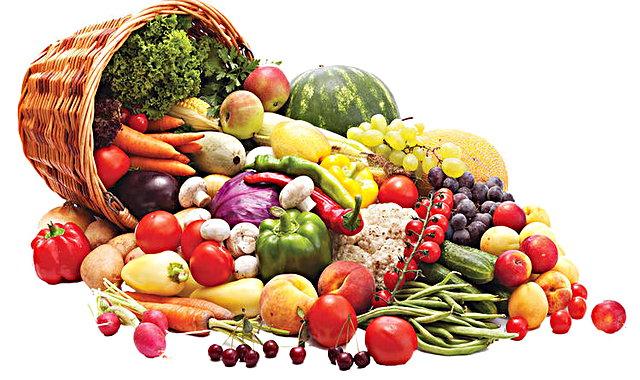 Taze sebze ve meyve tüketin: