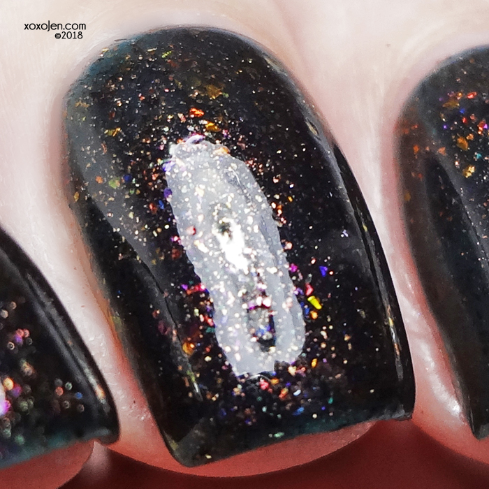 xoxoJen's swatch of Night Owl Lacquer Fall Together