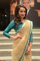 Tejaswi Madivada looks super cute in Saree at V care fund raising event COLORS ~  Exclusive 090.JPG