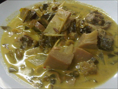 Resep Kuah Pliek U