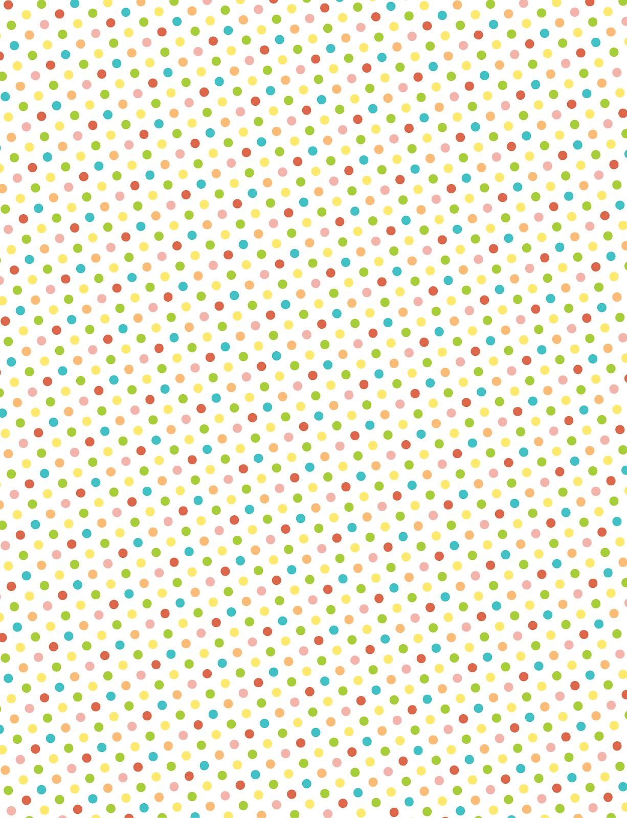 Amy J Delightful Blog Printable Polka Dot Patterns For Making Washi Tape Stickers
