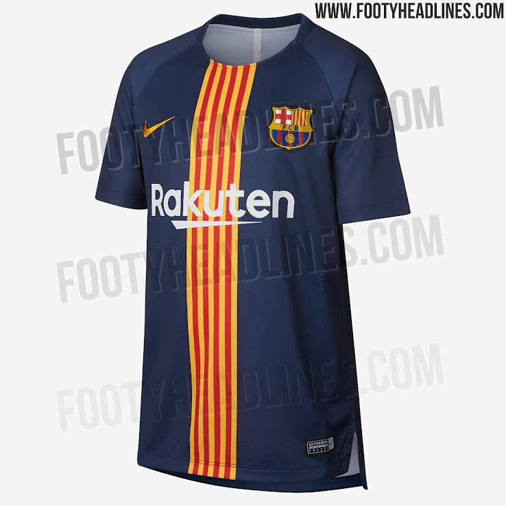 half off d9e61 294fc Barcelona 18-19 Pre-Match Shirt Released - Footy Headlines