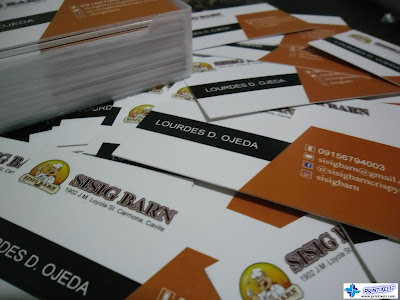 Calling Cards for Sisig Barn