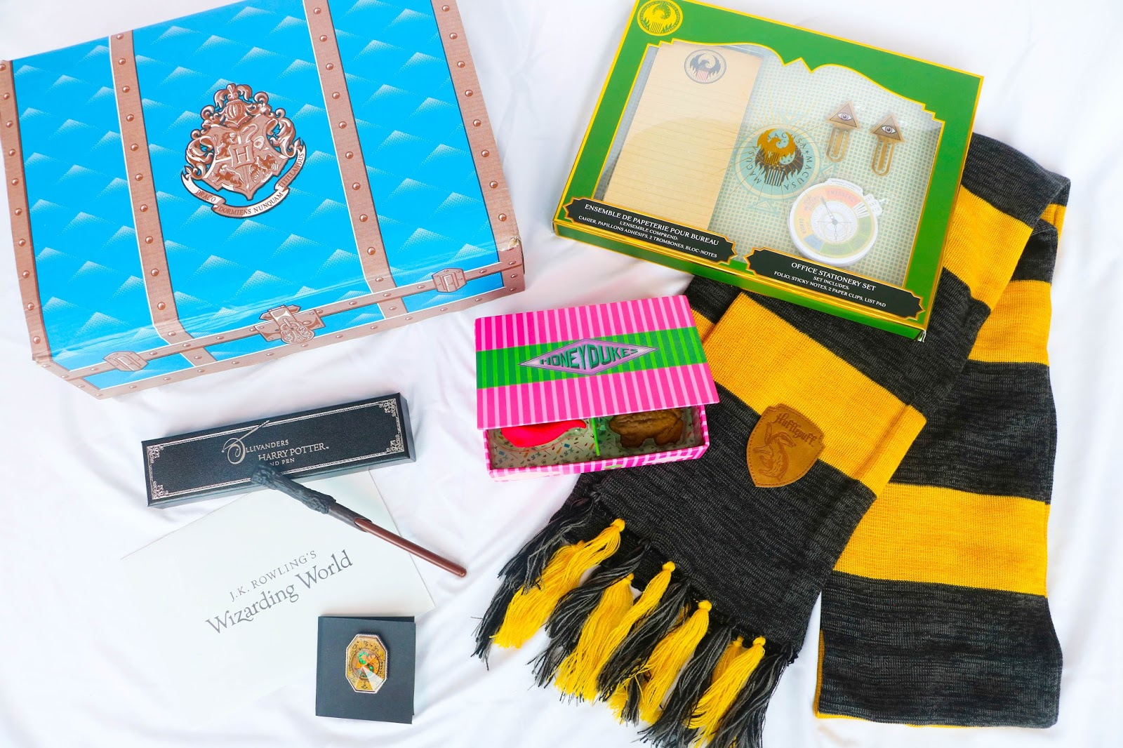 Unboxing Lootcrate's J.K. Rowling's Wizarding World September 2017