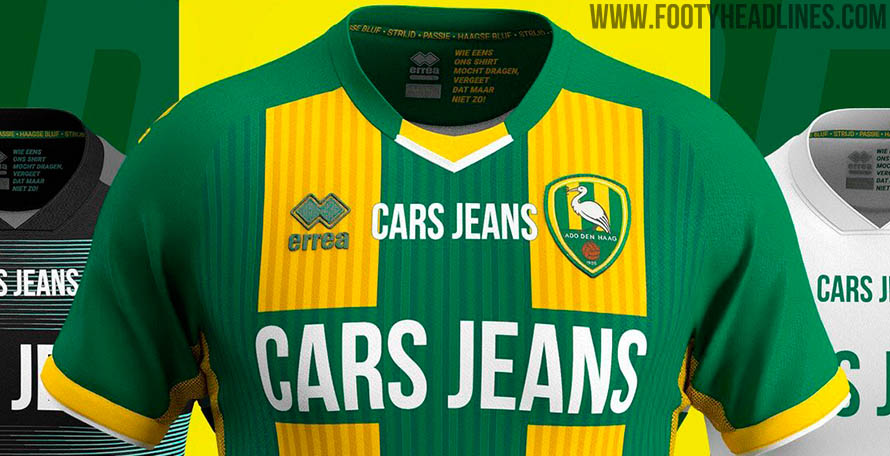 Ado Den Haag 19 20 Home Away Third Kits Released Footy Headlines