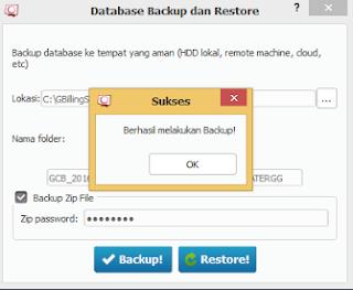 Cara Backup Manual Database Cyberindo Billing