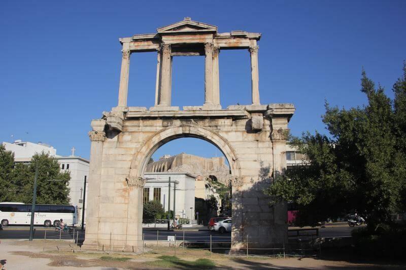 Free tour atenas templo