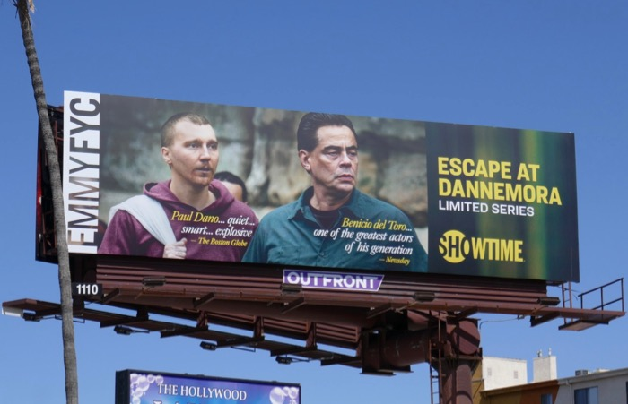 Escape at Dannemora Emmy FYC billboard
