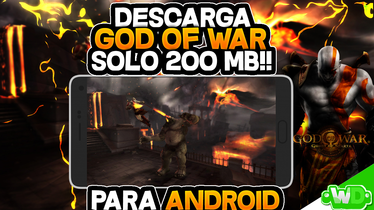 ⚡ God of war 4 para psp android | Download God of War for