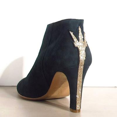 Boots daim Patricia Blanchet