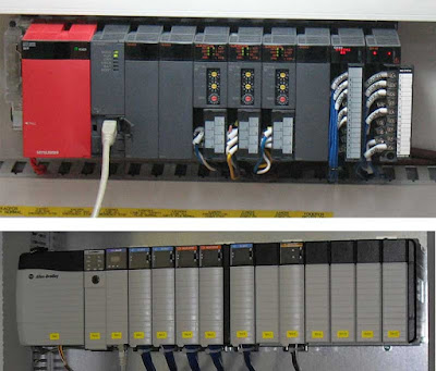 PLC Hardware in Panel