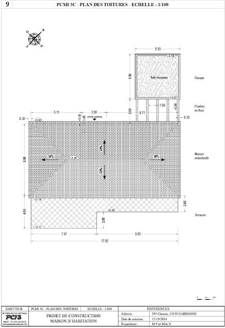 Permis de construire 13 composition d 39 un dossier de for Cerfa maison individuelle