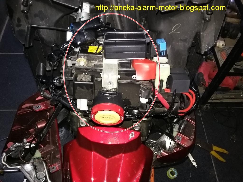 Aneka Alarm Motor: Cara pasang alarm motor remote pada
