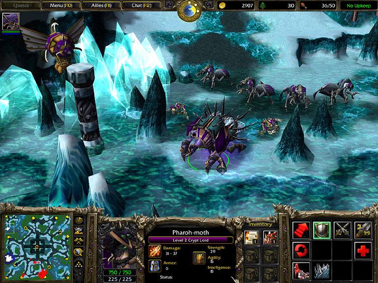 55376 - Warcraft 3 + Frozen Throne