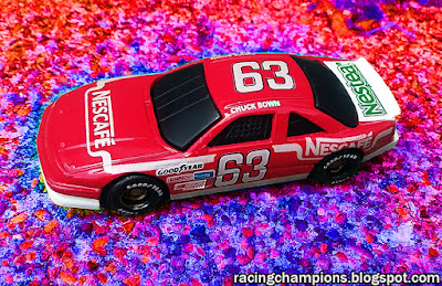 Racing Champions 1/64 Chuck Bown Nescafe Nestea Coffee NASCAR BGN Blog