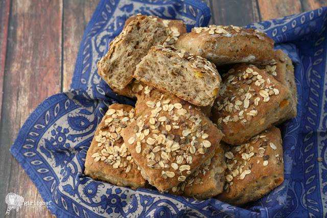Muesli Rolls | #BreadBakingBabes