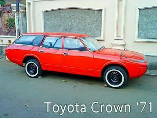 Toyota Crown Lele Stationwagon 1971 Full Original