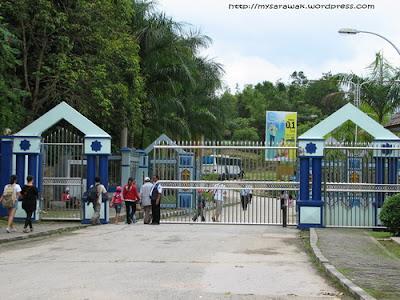 Pintu gerbang perbatasan Tebedu, Kalimantan Barat