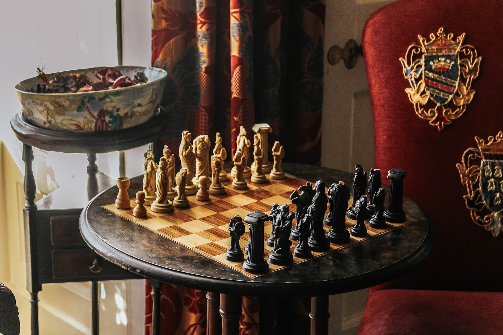 Luxury Countryside Hotel Chess Board
