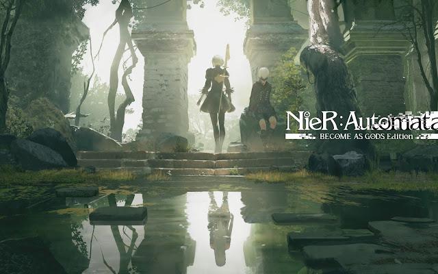 Papel de parede grátis Nier: Automata Become as Gods Edition Xbox One para PC, Notebook, iPhone, Android e Tablet.
