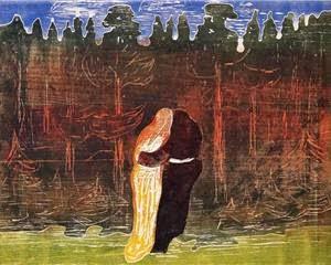 Indo para a Floresta - Munch, Edvard esuas principais pinturas ~ Um grito de desespero existencial